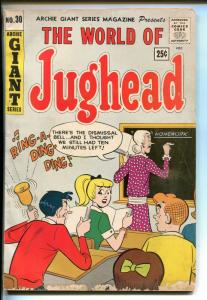 ARCHIE GIANT SERIES #30 1964-JUGHEAD-BETTY VERONICA-good