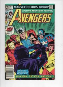 AVENGERS #218, VF, Captain America, Thor, Iron Man, 1963 1982, more Marvel in st