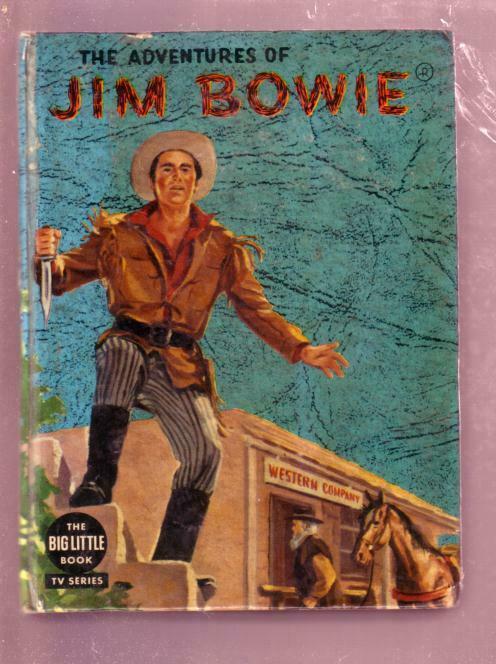 ADVENTURES OF JIM BOWIE-SCOTT FORBES #1648 TV-BLB-1958 VG/FN
