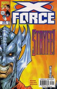 X-Force #74 VF/NM; Marvel | save on shipping - details inside