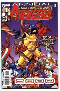 Avengers Annual 2000-Marvel Hellcat-Patsy Walker-comic book