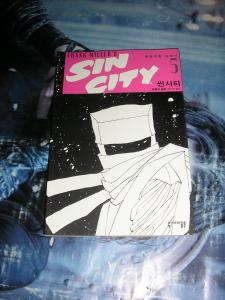 SIN CITY FRANK MILLER - Lot of 6 TPBs Korean Editions Near Complete Set