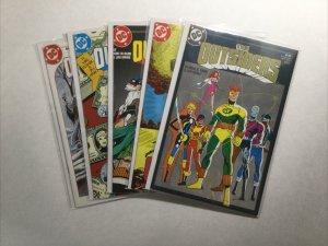 The Outsiders 1-5 1 2 3 4 5 Lot Run Set Near Mint Nm Dc Comics