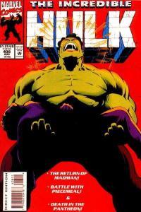 Incredible Hulk (1968 series) #408, VF+ (Stock photo)