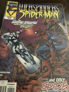 Marvel Webspinners Spider-Man #4 Mint