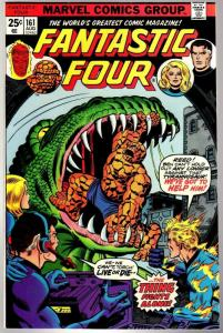 FANTASTIC FOUR 161 VG-F  Aug. 1975