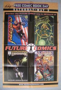 FUTURE COMICS Promo Poster, 22x34, 2003, Unused, more Promos in store