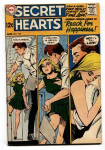 Secret Hearts #133 1969-DC-Reach For Happiness-good art-FN