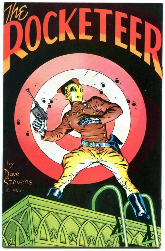 ROCKETEER ADVENTURES #1B Dave Stevens Cover Bettie Page