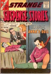 STRANGE SUSPENSE STORIES (1955-1965 CHARLTON) 64 F-VF COMICS BOOK