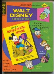 Walt Disney Comic Digest #50 1974-Mickey Mouse-Carl Barks art-VF