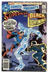 DC Comics Presents #16-1979- Black Lightning and Superman DC