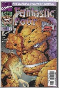 Fantastic Four (vol. 2, 1997) #10 VF (Heroes Reborn) Lee/Choi/Lim, Inhumans