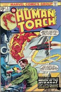 Marvel THE HUMAN TORCH (1974 Series) #5 VF-