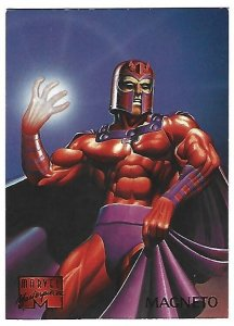 1995 Marvel Masterpieces #62 Magneto