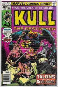 Kull the Destroyer #22 FN