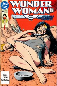 Wonder Woman #67 (ungraded) 2nd series / stock photo / ID#00E