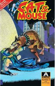 Cat & Mouse (Aircel) #5 VF/NM; Aircel | save on shipping - details inside