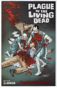 PLAGUE of the LIVING DEAD #3, VF+, Zombies, Gore, 2007, more Horror in store