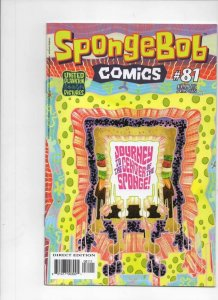 SPONGEBOB #81, NM, Square pants, Bongo, Cartoon comic, 2011 2018, more in store