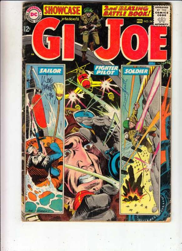Showcase #54 (Feb-65) VF/NM High-Grade G.I. Joe