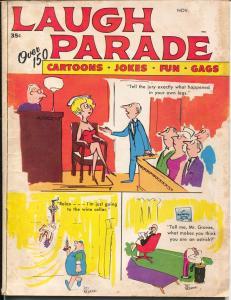 Laugh Parade  11/1967-Marvel-spicy cartoons-cheesecake pix-G