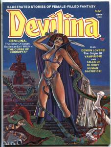 Devilina #2 1978 Atlas 2nd appearance magazine-comic book mag