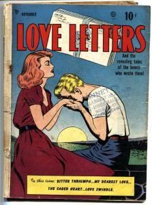 LOVE LETTERS #1 COMIC BOOK 1949-BILL WARD-GUSTAVSON-LINGERIE PANEL