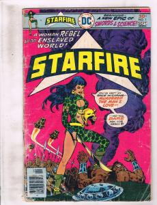 8 DC Comics Starfire 1 Tarzan 241 Claw 5 Man Of Steel 1 Shadow 2 Arion 10 + J245