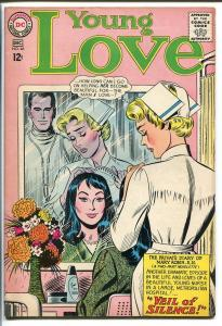 YOUNG LOVE #46-DC ROMANCE-NURSE HOSPITAL COVER FN