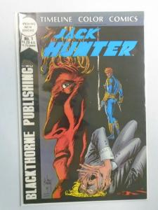Jack Hunter #1 8.0 VF (1987 Timeline Color Comics)
