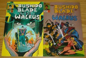 Bushido Blade of Zatoichi Walrus #1-2 FN/VF complete series usagi yojimbo fans?