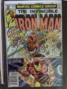 Iron Man #151 (1981)