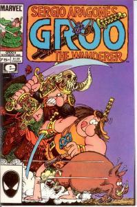 GROO 9 VF-NM Nov. 1985 SERGIO ARAGONES COMICS BOOK