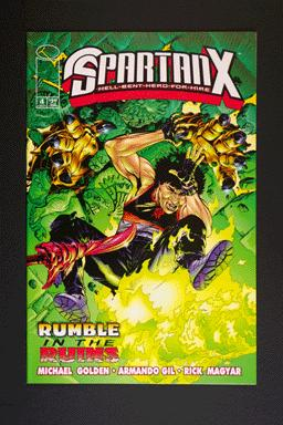 Jackie Chan's SpartanX Hell-Bent-Hero-For-Hire #4 Aug 1998
