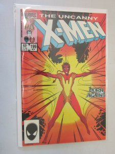 The Uncanny X-Men #199 Direct Edition 6.0 FN (1985)