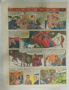 Superman Sunday Page #998 by Wayne Boring from 12/14/1958 Size ~11 x 15 inches