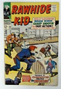 Rawhide Kid #58   FN  Marvel Comic 1969  Bronze Age  Western Cowboy Comics