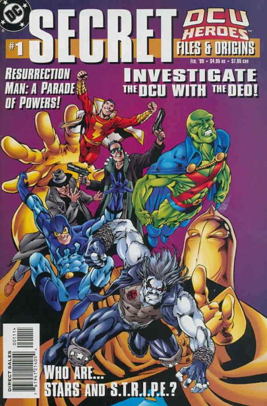DCU Heroes Secret Files #1 FN; DC | save on shipping - details inside