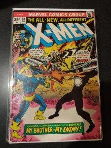 X-Men #97 - CYCLOPS VS. HAVOK - 1976 Grade VF