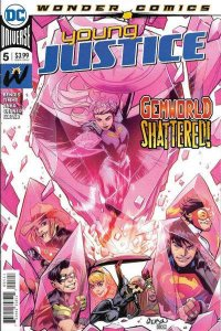 Young Justice (2019 series) #5, NM + (Stock photo)