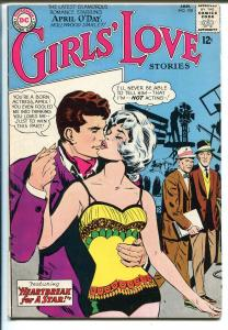 Girls' Love Stories #108 1965-DC-romance stories-April O'Day issue- Sinatra-FN+