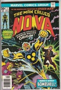 Nova, the Man Called #1 (Sep-76) VF/NM High-Grade Nova