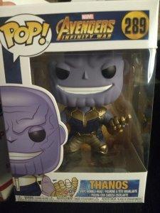 Thanos Funko Pop #289 New in box