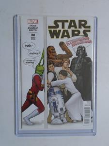 Marvel Star Wars - 001 Party Variant Edition: Aaron Cassaday Martin, NM (2015)
