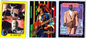 Dick Tracy/Milestone/Bob Marley Trading Cards