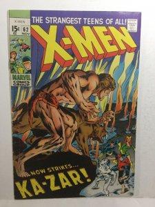 X-Men 62 Vg+ Very Good+ 4.5 Marvel Comics