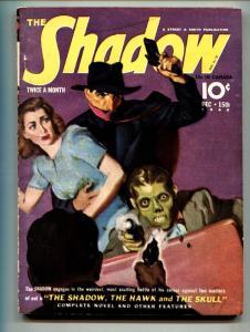 SHADOW 1940 Dec 15-high grade- STREET AND SMITH-RARE PULP vf