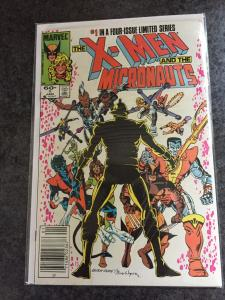Higher Grade X-men And Micronauts 1-4 (Complete)