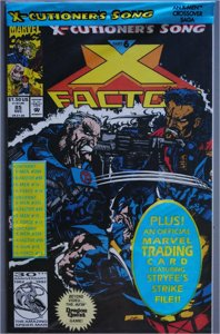 X-Factor #25  VF/Better Bagged Isue w/Trading Cards    See Actual Photo